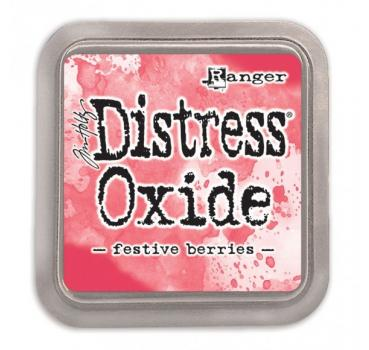 Ranger Distress Oxide -festive berries -
