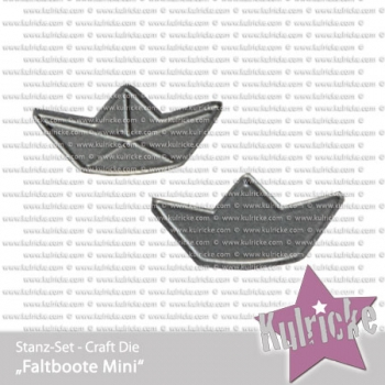 """Faltboote Mini"" Stanze - Craft Die"