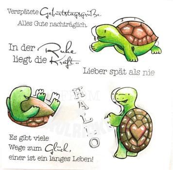 "Stempelset ""Schildkröten"""