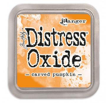 Ranger Distress Oxide - carved pumpkin -