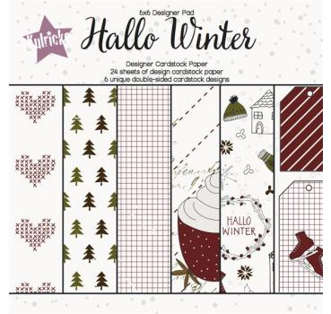 """Hallo Winter"" Paperpad"