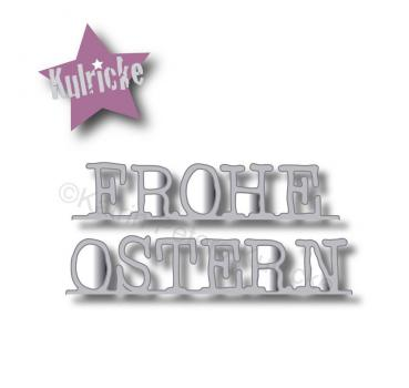 """Frohe Ostern"" Pop-up Stanze"