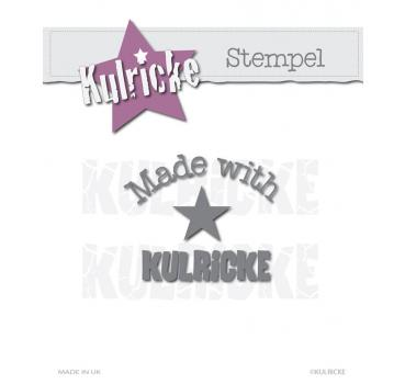 "Stempel ""Made with Kulricke"" Copyright-Stempel"