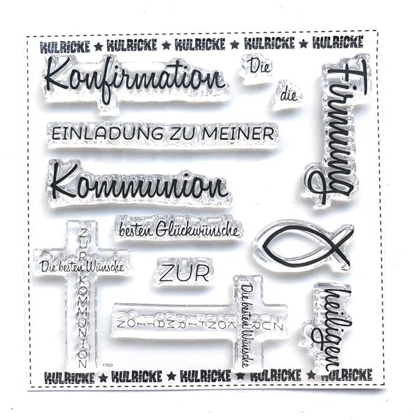 Kommunuion/Konfirmation Stempel Set