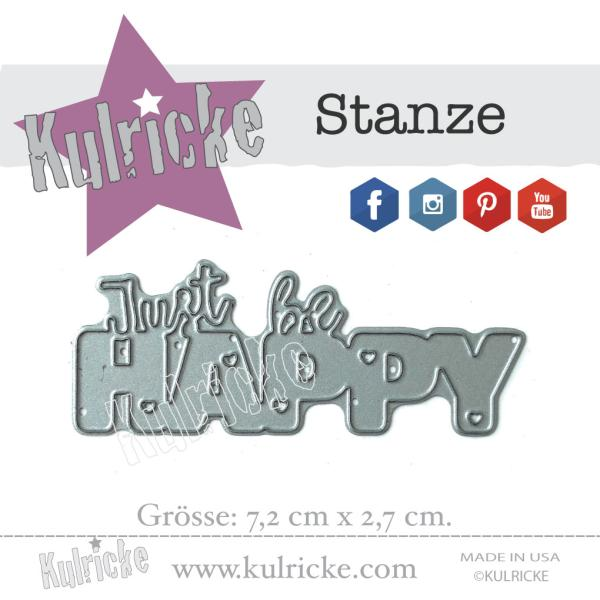 """Just be HAPPY"" Stanze"
