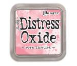 Ranger Distress Oxide -worn lipstick -